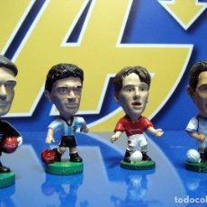 Coleccionismo deportivo: LOTE DE 4 FIGURAS FUTBOL AÑOS 90 DESCATALOGADAS. Lote 195060068