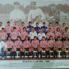Coleccionismo deportivo: PÓSTER CENTENARIO DEL BILBAO 1898 - 1998. Lote 195097822