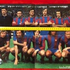 Coleccionismo deportivo: FCBARCELONA BARSA CAMPEON LIGA 73 74 POSTER ORIGINAL WILLIAMS. Lote 195240621