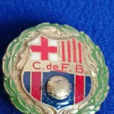 Coleccionismo deportivo: INSIGNA CLUB DE FUTBOL BARCELONA- ANTIGUA (ALFILER). Lote 195279430