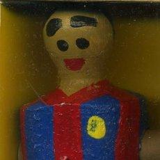 Coleccionismo deportivo: MUÑECO DE FUTBOLÍN FC BARCELONA - IMÁN PARA LA NEVERA. Lote 195325562
