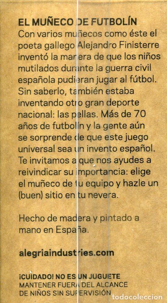Coleccionismo deportivo: MUÑECO DE FUTBOLÍN FC BARCELONA - IMÁN PARA LA NEVERA - Foto 2 - 195325562