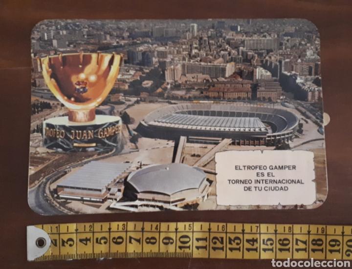 Coleccionismo deportivo: Antigua pegatina El trofeo Gamper es el torneo internacional de tu ciudad - Foto 3 - 195363687