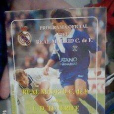 Coleccionismo deportivo: PROGRAMA REAL MADRID VS TENERIFE 1993 94 BERNABEU 27 FEBRERO 36 PAG 20,5 X 14 CMS. Lote 195959413