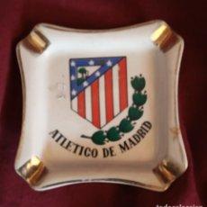 Coleccionismo deportivo: CENICERO ATLETICO DE MADRID. Lote 196365343