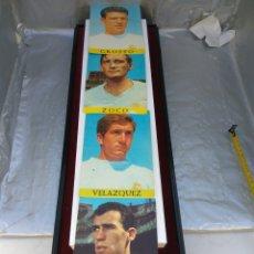 Coleccionismo deportivo: POSTALES REAL MADRID GROSSO ZOCO VELÁZQUEZ AMANCIO. Lote 196575842