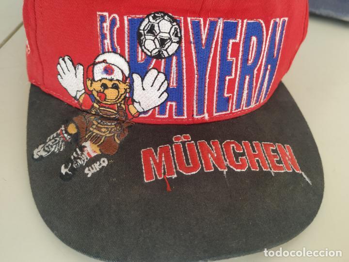 Coleccionismo deportivo: Gorra Bayern de Múnich. FC Bayern München - Foto 2 - 197151336