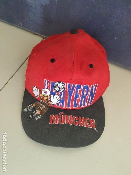 GORRA BAYERN DE MÚNICH. FC BAYERN MÜNCHEN (Coleccionismo Deportivo - Merchandising y Mascotas - Futbol)