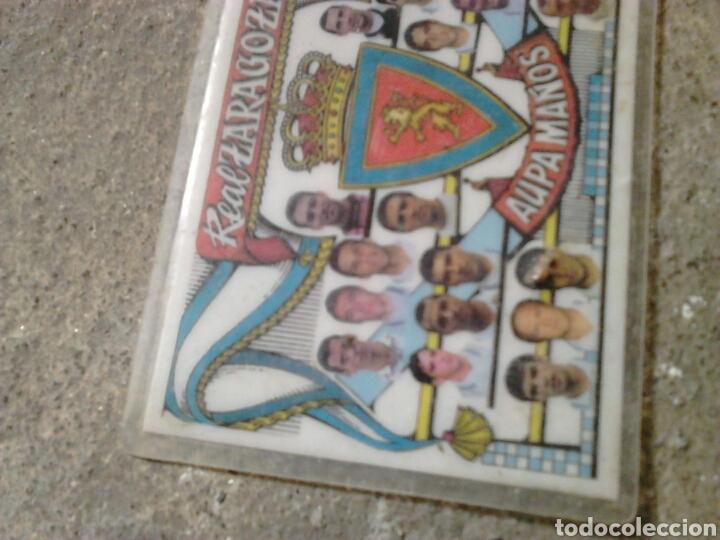 Coleccionismo deportivo: Viejo calendario bolsillo, futbol real Zaragoza, año 1997 - Foto 2 - 197539000