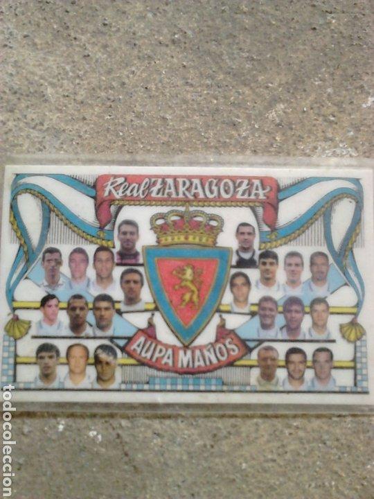 VIEJO CALENDARIO BOLSILLO, FUTBOL REAL ZARAGOZA, AÑO 1997 (Coleccionismo Deportivo - Merchandising y Mascotas - Futbol)