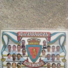 Coleccionismo deportivo: VIEJO CALENDARIO BOLSILLO, FUTBOL REAL ZARAGOZA, AÑO 1997. Lote 197539000