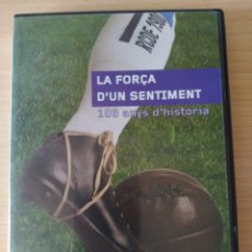 Coleccionismo deportivo: DVD RCD ESPANYOL 108 ANYS D'HISTORIA. CATALÁN. Lote 197903528