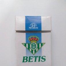 Coleccionismo deportivo: CAJETILLA DE TABACO, REAL BETIS. Lote 198220525