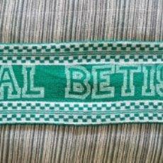Coleccionismo deportivo: BETIS BUFANDA SCARF SCARPIA FÚTBOL FOOTBALL. Lote 198539760