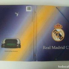 Coleccionismo deportivo: CARPETA CON SEPARADORES REAL MADRID C.F. ESTADIO SANTIAGO BERNABEU 1996 PRODUCTO OFICIAL LICENCIADO. Lote 198594958