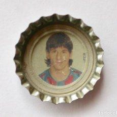 Coleccionismo deportivo: CHAPA COCA-COLA DE LEO MESSI ROOKIE F.C. BARCELONA / COKE CROWN CAP LEO MESSI ROOKIE FC BARCELONA. Lote 198779376