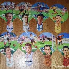 Coleccionismo deportivo: LOTE 8 ABANICOS, PAI PAI, PAY PAY DE CARTON. . Lote 199579288