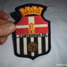 Coleccionismo deportivo: ANTIGUO ESCUDO DE FIELTRO CARTAGENA F.C.. Lote 200370907