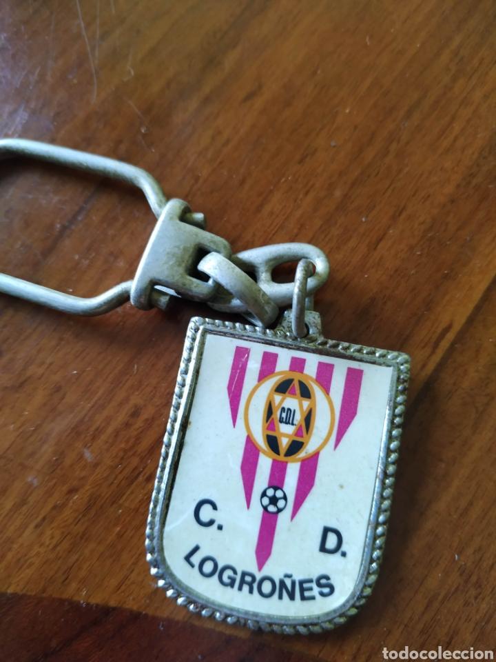 LLAVERO CLUB DEPORTIVO LOGROÑO LOGROÑO (Coleccionismo Deportivo - Merchandising y Mascotas - Futbol)