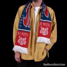 Coleccionismo deportivo: BUFANDA OFICIAL DE FUTBOL DEL F.C. YETI - TIBET. Lote 200864590