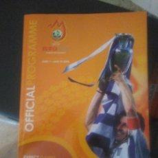 Coleccionismo deportivo: PROGRAMA OFICIAL DE LA EURO 2008. Lote 202868055
