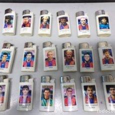 Coleccionismo deportivo: COLECCION MECHEROS ENCENDEDOR BRIO FUTBOL CLUB BARCELONA NO CLIPPER. Lote 203260406