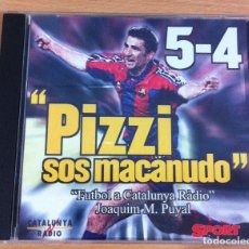 Coleccionismo deportivo: CD FUTBOL A CATALUNYA RÀDIO - PIZZI SOS MACANUDO - FC BARCELONA 5-4 ATLÉTICO DE MADRID. SPORT, 1997. Lote 139353818