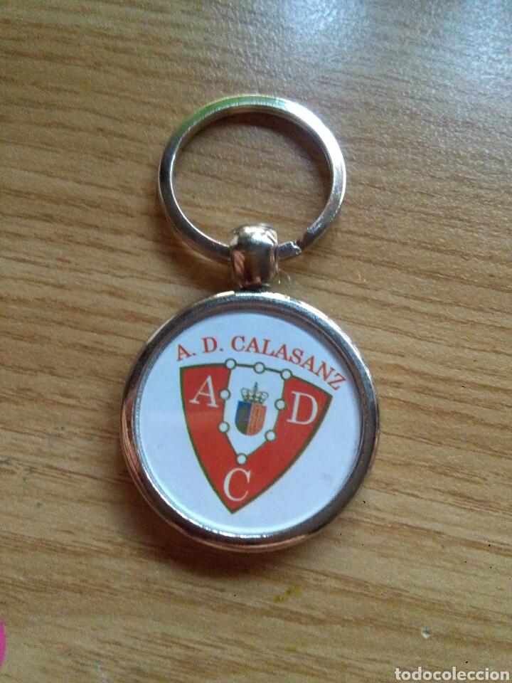 LLAVERO A.D. CALASANZ DE MADRID (Coleccionismo Deportivo - Merchandising y Mascotas - Futbol)