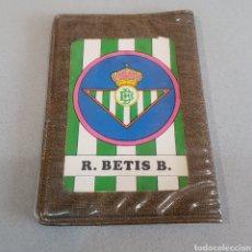 Coleccionismo deportivo: ANTIGUA CARTERA CON AGENDA ESCUDOS BETIS. Lote 205564086