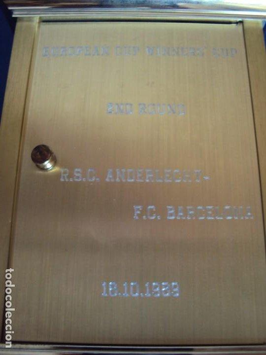 Coleccionismo deportivo: (F-200507)RELOJ OBSEQUIO PARTIDO DE RECOPA R.S.C.ANDERLECHT-F.C.BARCELONA 18-10-89 - Foto 6 - 206247856