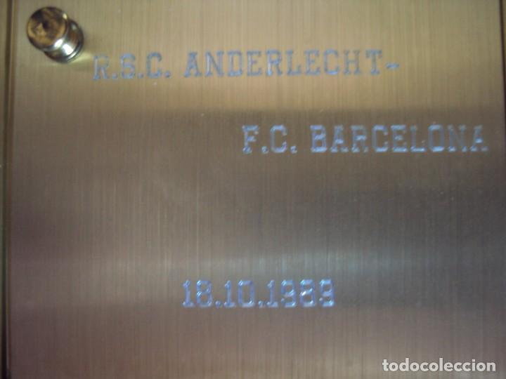 Coleccionismo deportivo: (F-200507)RELOJ OBSEQUIO PARTIDO DE RECOPA R.S.C.ANDERLECHT-F.C.BARCELONA 18-10-89 - Foto 8 - 206247856