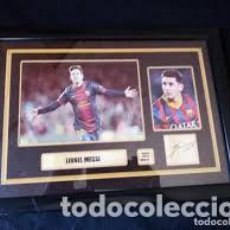 Collectionnisme sportif: CUADRO LIONEL MESSI LIMITED EDITION 48 OF 50.. Lote 206516913