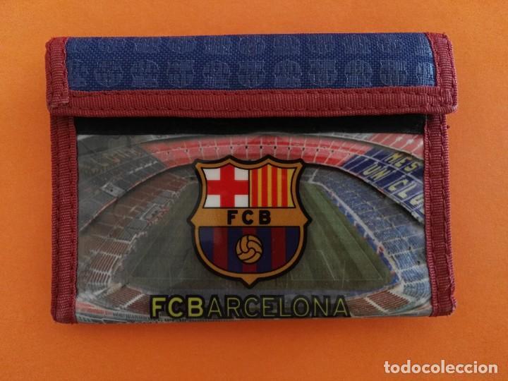 CARTERA MONEDERO BILLETERO FÚTBOL CLUB BARCELONA BARÇA LICENCIA OFICIAL VER FOTOS ADICIONALES (Coleccionismo Deportivo - Merchandising y Mascotas - Futbol)