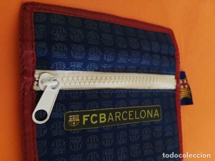 Coleccionismo deportivo: CARTERA MONEDERO BILLETERO FÚTBOL CLUB BARCELONA BARÇA LICENCIA OFICIAL VER FOTOS ADICIONALES - Foto 4 - 207072100