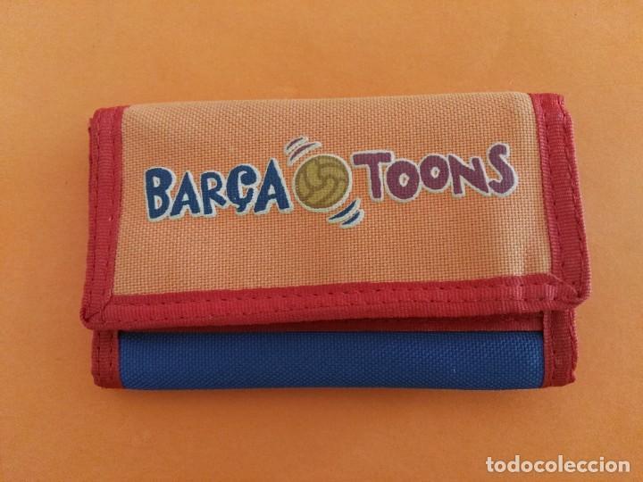 CARTERA PORTALLAVES BILLETERO FÚTBOL CLUB BARCELONA BARÇA LICENCIA OFICIAL VER FOTOS ADICIONALES (Coleccionismo Deportivo - Merchandising y Mascotas - Futbol)