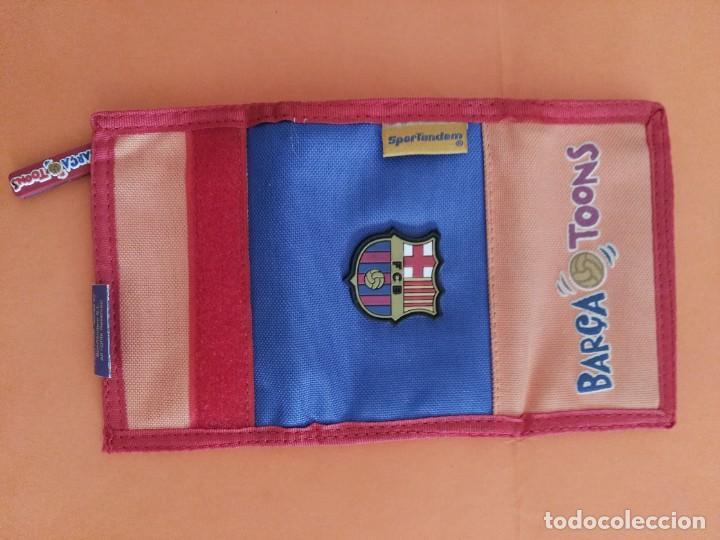 Coleccionismo deportivo: CARTERA PORTALLAVES BILLETERO FÚTBOL CLUB BARCELONA BARÇA LICENCIA OFICIAL VER FOTOS ADICIONALES - Foto 2 - 207072482