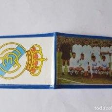 Coleccionismo deportivo: ANTIGUA CARTERA REAL MADRID AÑOS 60, NUEVO!!!!!!!!!!. Lote 207235595
