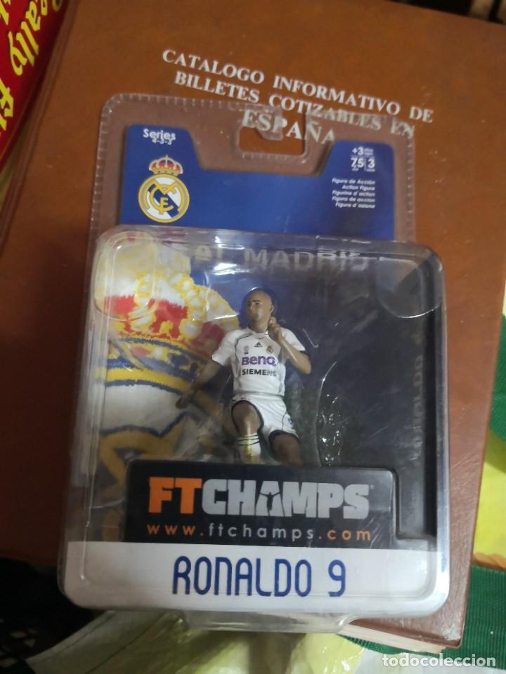 FTCHAMPS - RONALDO NAZARIO DE LIMA 9 - REAL MADRID - SERIE 4-3-3 - FIGURA DE 7.5 CM. BLISTER NUEVO! (Coleccionismo Deportivo - Merchandising y Mascotas - Futbol)