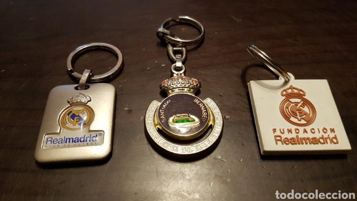 LLAVEROS REAL MADRID (Coleccionismo Deportivo - Merchandising y Mascotas - Futbol)
