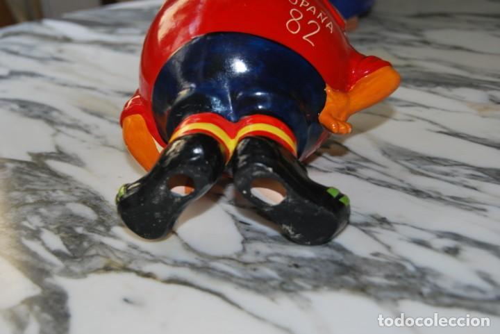 Coleccionismo deportivo: NARANJITO DE CERÁMICA - FIGURA - MASCOTA MUNDIAL DE FÚTBOL 1982 - ESPAÑA 82 - Foto 9 - 209296993