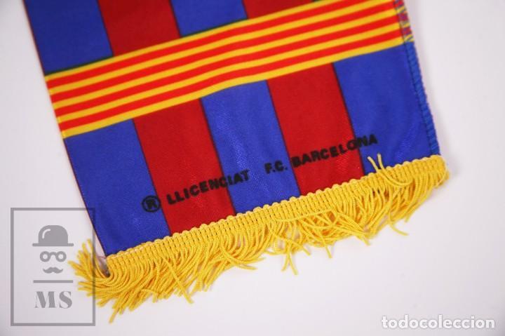 Coleccionismo deportivo: Bufanda Oficial del Fútbol Club Barcelona - Força Barça / Campions Liga Año 1993-1994 - Foto 5 - 210014836