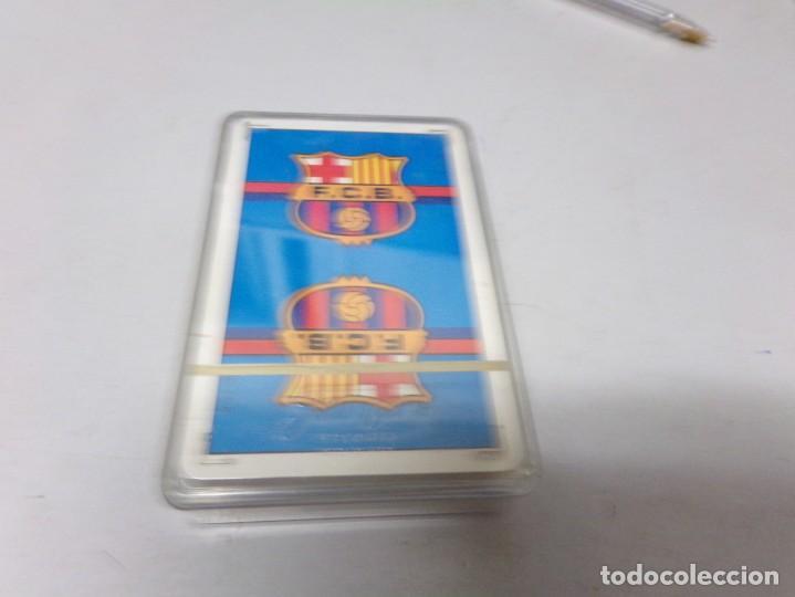 Coleccionismo deportivo: juego cartas barcelona precintada heraclio fournier vitoria españa numero 32 nueva - Foto 2 - 210407078