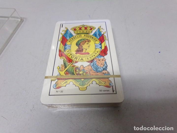 Coleccionismo deportivo: juego cartas barcelona precintada heraclio fournier vitoria españa numero 32 nueva - Foto 3 - 210407078