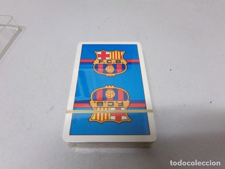 Coleccionismo deportivo: juego cartas barcelona precintada heraclio fournier vitoria españa numero 32 nueva - Foto 5 - 210407078