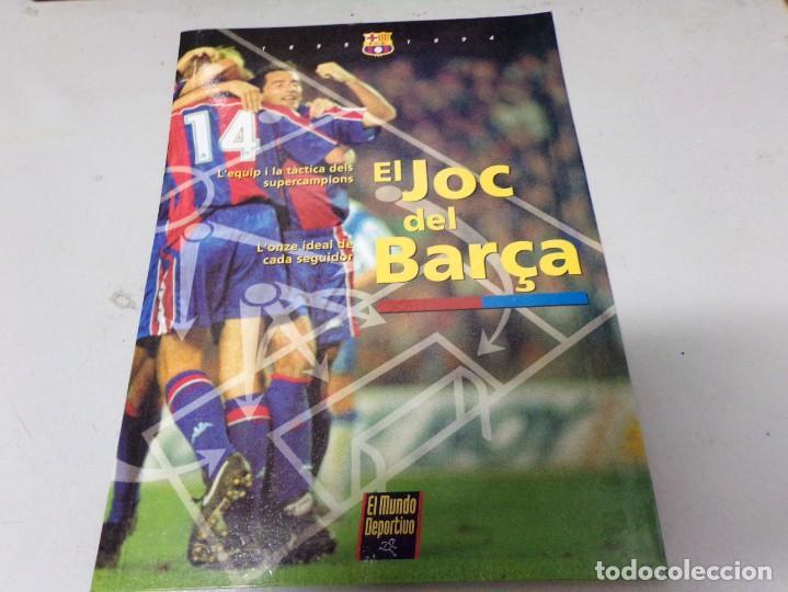 EL JOC DEL BARÇA, EL MUNDO DEPORTIVO (Coleccionismo Deportivo - Merchandising y Mascotas - Futbol)