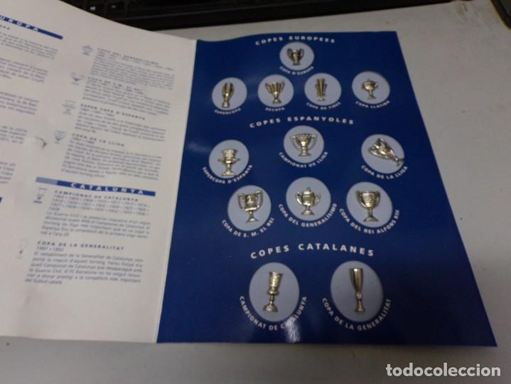 Coleccionismo deportivo: los pins del barça barcelona copas coleccion completa - Foto 2 - 210596805