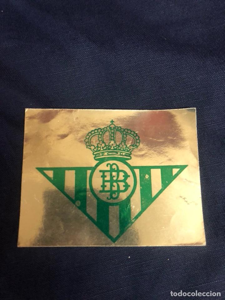 ANTIGUA PEGATINA DEL REAL BETIS BALOMPIÉ (Coleccionismo Deportivo - Merchandising y Mascotas - Futbol)