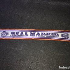 Coleccionismo deportivo: BUFANDA FUTBOL SCARF REAL MADRID VINTAGE ... ZKR. Lote 210717071