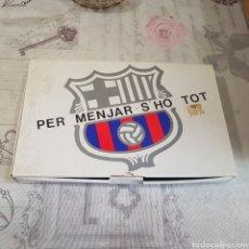 Coleccionismo deportivo: JUEGO DE CUBIERTOS F. C. BARCELONA. Lote 210936720