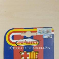 Coleccionismo deportivo: BLISTER FCB BARCELONA COCHE MAJORETTE BMW E 1/53 NUEVO. Lote 211446185